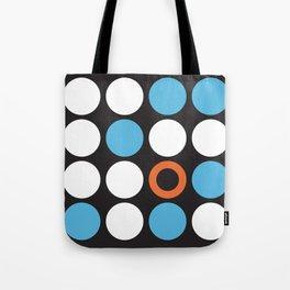Modern Abstract Dots Tote Bag