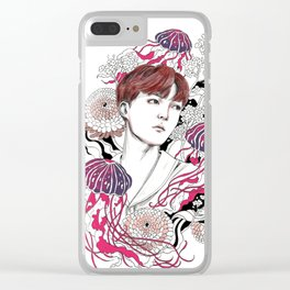 BTS J-HOPE Clear iPhone Case