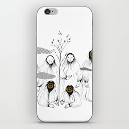 whos there - 1 iPhone Skin