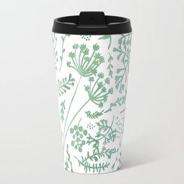 GREEN HERBS Travel Mug