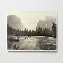 Eadweard J. Muybridge Valley of the Yosemite Metal Print