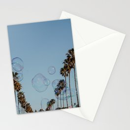Bubbles & Palm Trees Stationery Cards