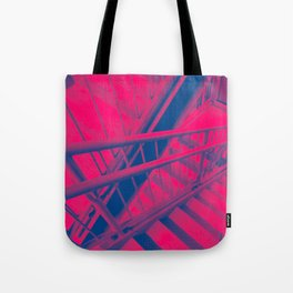 Indecisive, red Tote Bag