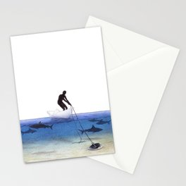 Parting Ways by Lars Furtwaengler   Colored Pencil   2013 Stationery Cards