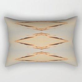 Fire Diamonds Rectangular Pillow