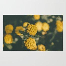The Yellow Lantana Rug
