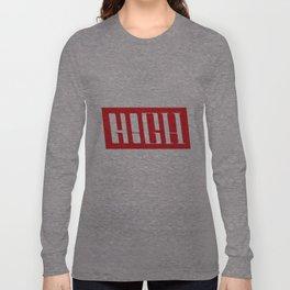 H!GH Contrast Long Sleeve T-shirt