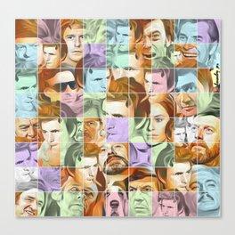 Columbo's puzzle Canvas Print