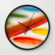 Watercolors Wall Clock