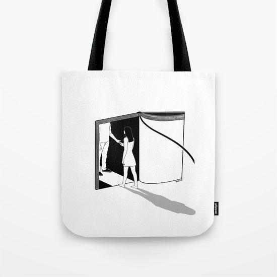 Book Lover Tote Bag