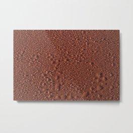 Red Ice Metal Print
