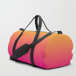 Ombre | Orange and Pink Duffle Bag