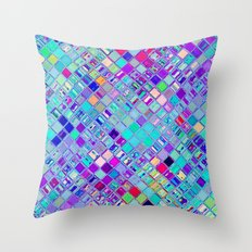 Re-Created  Mosaic No. ELEVEN by Robert S. Lee Throw Pillow