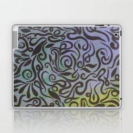 Blue vines  Laptop & iPad Skin