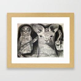 In Common Framed Art Print