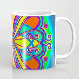 Pop Art Scarab Coffee Mug
