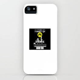I Must Go Video Games Need Me iPhone Case