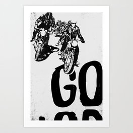 The Horde Motorcycle Art Print Art Print