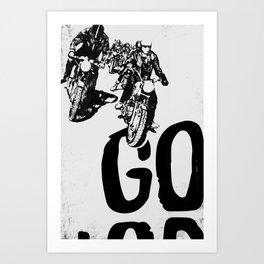 The Horde Motorcycle Art Print Art Print