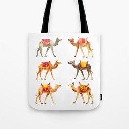Cute watercolor camels Tote Bag