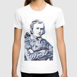 Johannes Brahms (1833 – 1897) in 1853 (3) T-shirt