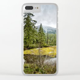No Man's Land Clear iPhone Case
