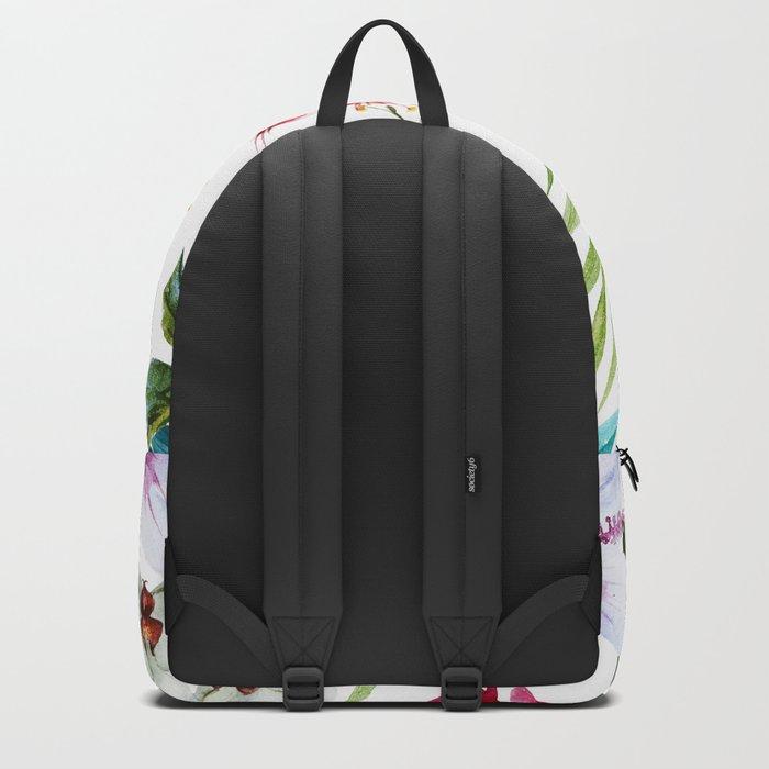 Tropical Bird Pattern 05 Backpack