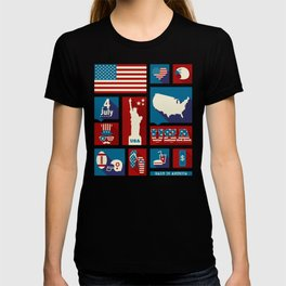 4th Of July - Made In America T-shirt
