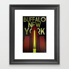 Buffalo, NY Framed Art Print