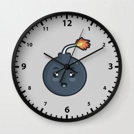 Kawaii Bomb Wall Clock