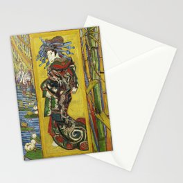 Japonaiserie by Vincent van Gogh Stationery Cards