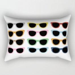 Sunglasses #4 Rectangular Pillow