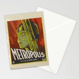Metropolis Vintage Poster Stationery Cards