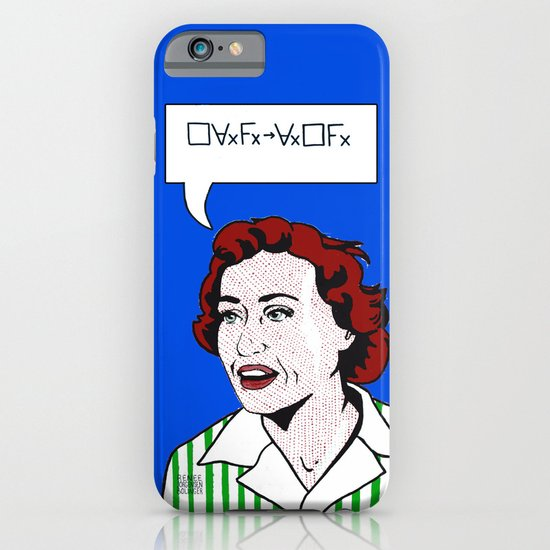 (Converse) Ruth Barcan Marcus iPhone & iPod Case