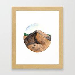 Mountain Ridge Framed Art Print