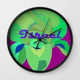 Royal Iris Wall Clock