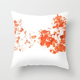 Autumn leaves 4 Throw Pillow
