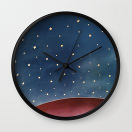 Planet of Stars Wall Clock