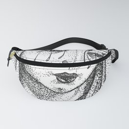 Crying Virgin Fanny Pack