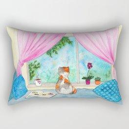 My quiet place Rectangular Pillow