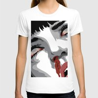 mia wallace T-shirts featuring There goes mrs. Mia Wallace by The Headless Fish