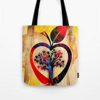 Apple Tree Tote Bag
