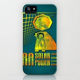 Ra Solar Power iPhone Case