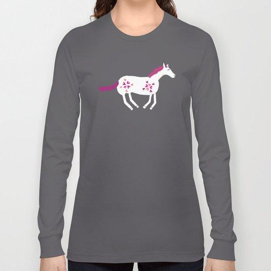 Lucky Horses Long Sleeve T-shirt