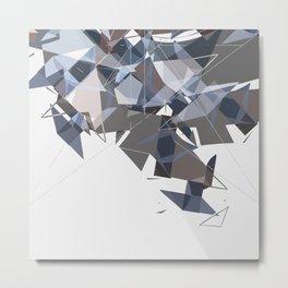 Biomorphic Ornamentalist Metal Print