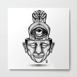 Where is my mind Metal Print