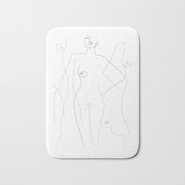 Nude and Naked Bath Mat