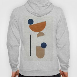Noir Gallery Abstract Minimal Shapes Desert Hoody