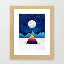 The magic of winter Framed Art Print