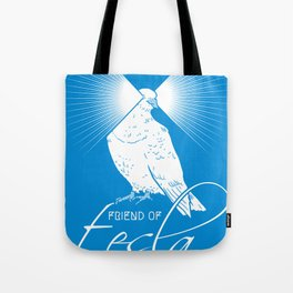Friend of Tesla Tote Bag